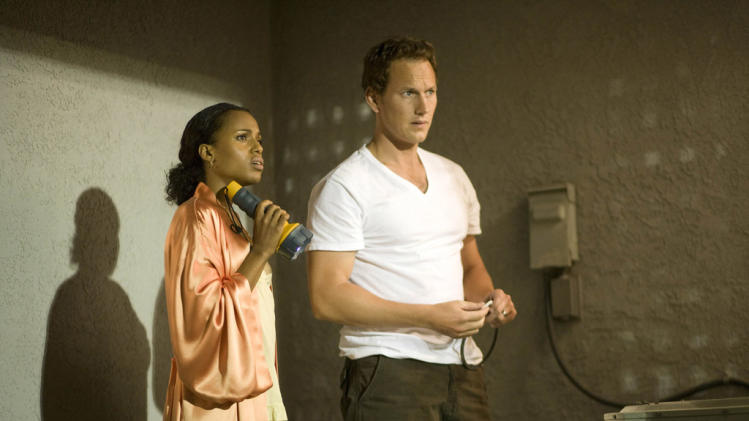 Kerry Washington Patrick Wilson Lakeview Terrace Production Stills Screen Gems 2008