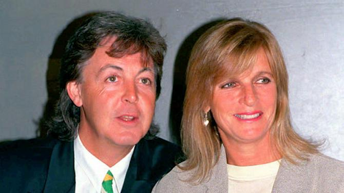 Paul McCartney and Linda McCartney