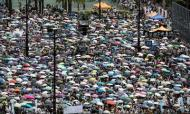 Hong Kong's China Protest Is Biggest Of Decade