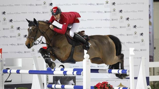 Olympic equine hopefuls head to Chantilly