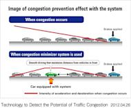 Honda's new system aims to smooth driving to reduce jams