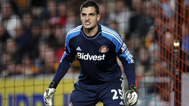 Premier League - Poyet backs Mannone after howler