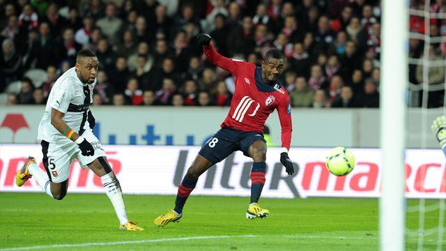 Ligue 1 - Rennes slip up at Lille