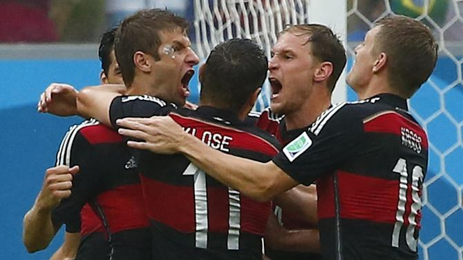World Cup - Germany beat USA, both progress to last 16