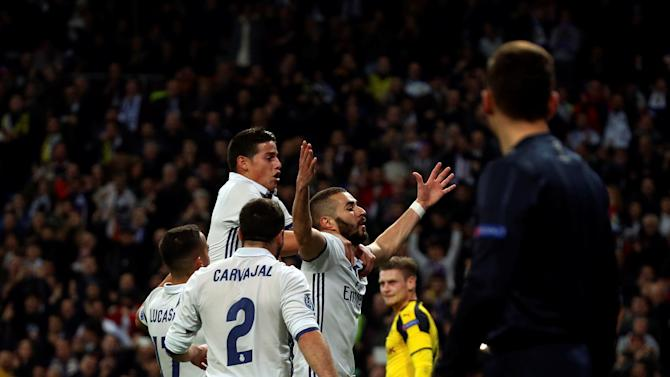 Football Soccer - Real Madrid v Borussia Dortmund - UEFA Champions League Group Stage - Group F