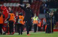 Britain Soccer Football - Liverpool v Tottenham Hotspur - Premier League - Anfield - 11/2/17 Liverpool manager Juergen Klopp celebrates after the match Reuters / Phil Noble/ Livepic/Files