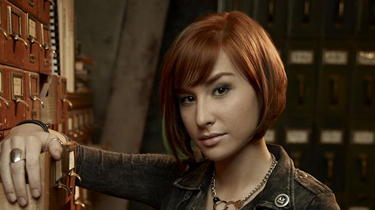 "Allison Scagliotti stars as Claudia Donovan in ""Warehouse 13."""