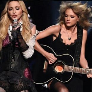 WOWtv - Taylor Swift Teams Up With Madonna And Goes Insane