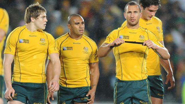 Rugby - Australia's Genia wants Cooper alongside him to face Lions