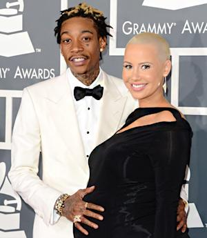 Amber Rose Gets Fiance Wiz Khalifa's Face Tattooed on Her Arm