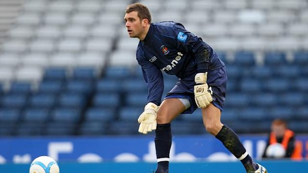Kilmarnock goalkeeper Cammy Bell is currently sidelined with a hip injury