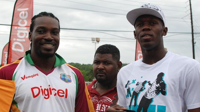 Gayle backs Bolt's cricketing ability