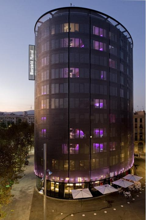 Barceló Raval Hotel in Barcelona, Spain, designed by CMV Architects