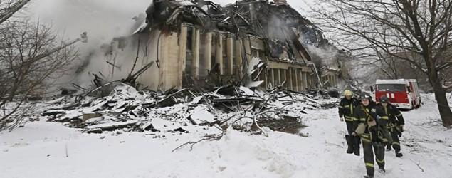 1M rare documents burn in Moscow