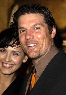 Premiere: Paul Johansson and Gabriela at the LA premiere for New Line's John Q - 1/7/2002