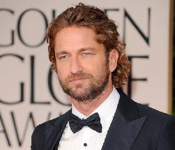Gerard Butler arrives at the 69th Annual Golden Globe Awards held at the Beverly Hilton Hotel in Beverly Hills, Calif. on January 15, 2012 -- Getty Images