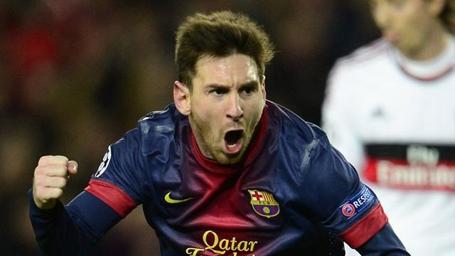 Champions League - Messi and Barca make a mockery of the doubters