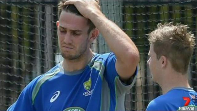 Close call a year on from Phillip Hughes tragedy