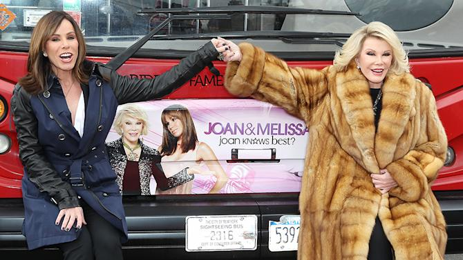 Gray Line New York Honors WE TV Stars Joan & Melissa Rivers with their