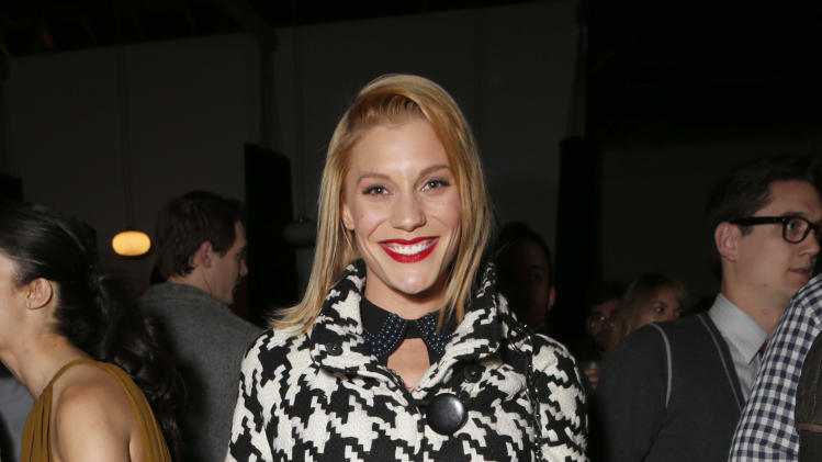 Katee Sackhoff attends the 3rd Annual Witness Uganda Concert Presented by Siren Studios to Benefit UgandaProject on Thursday December 6, 2012 in Los Angeles, California. (Photo by Todd Williamson/Invision for UgandaProject/ AP Images)
