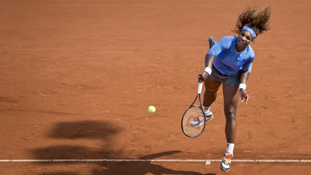 Tennis - Serena brushes aside Tatishvili in Bastad