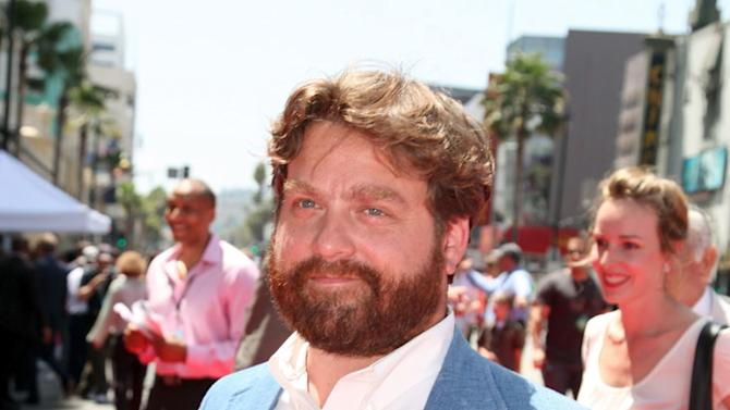 """Zach Galifianakis at The World Premiere of Walt Disney Pictures' """"G-Force"""" on July 19, 2009 at the El Capitan Theatre in Hollywood, California."""