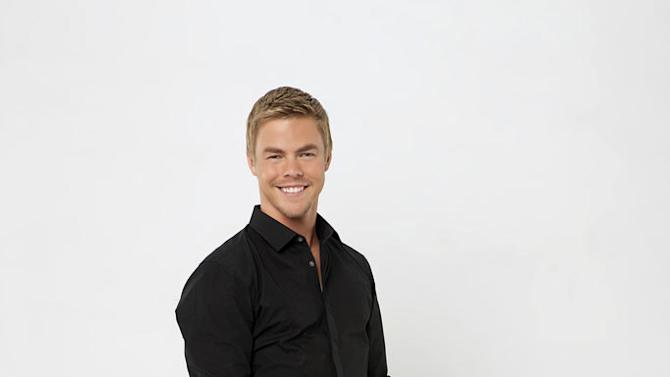"""Pro dancer Derek Hough partners with Ricki Lake on the 13th season of """"Dancing with the Stars."""""""