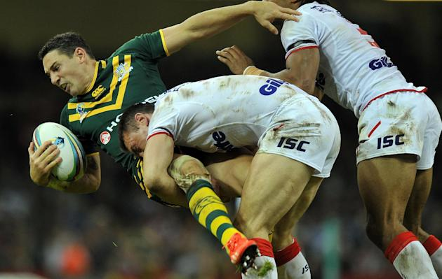 Rugby League - Sinfield stars as Leeds reach Challenge Cup final