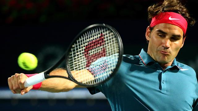 Tennis - Federer battles past Berdych to end epic winless streak
