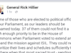 Retired general Rick Hillier angry at MP no-shows for ISIS vote