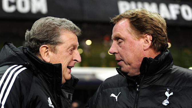 Harry Redknapp (right) thinks Roy Hodgson (left) faced a tough choice on Rio Ferdinand