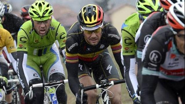 Cycling - Injured Boonen out for the rest of the season