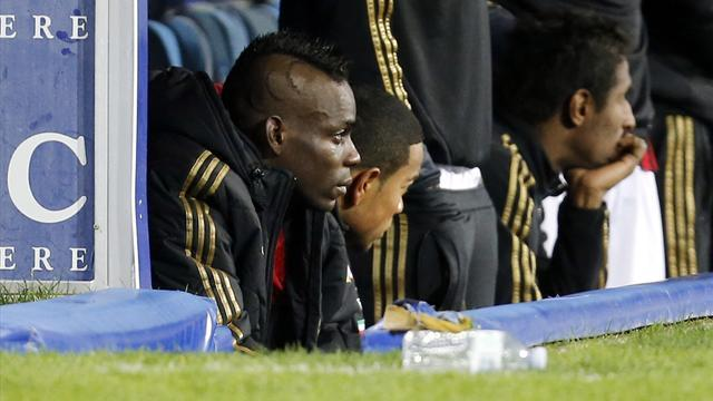 Serie A - Racism not behind 'beautiful' Balotelli tears