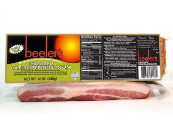 Beeler's Uncured Garlic & Pepper Bacon
