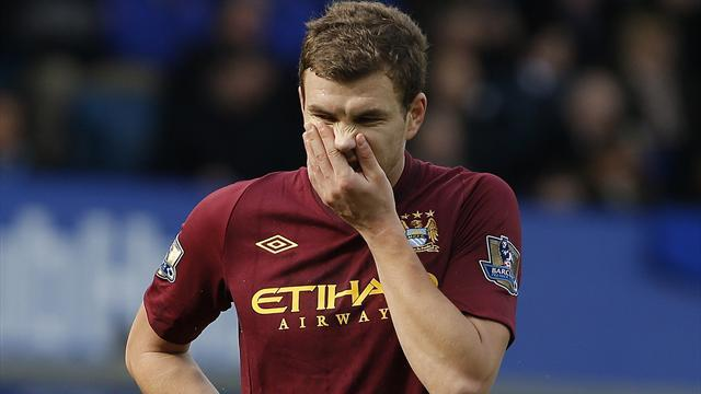 Premier League - Mancini: Dzeko right for Napoli