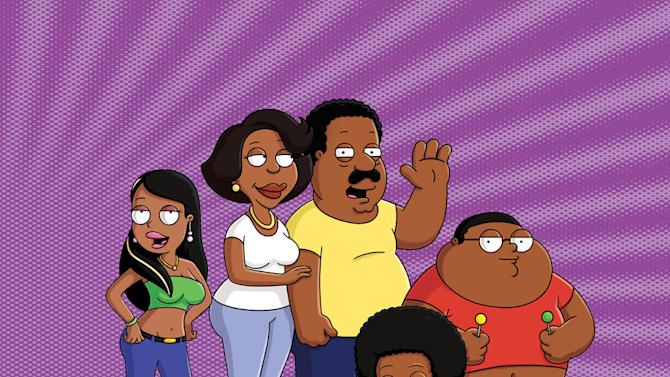 """Roberta, Donna, Cleveland, Rallo and Cleveland Jr. on """"The Cleveland Show."""""""