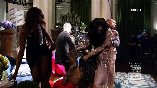 Fight Explodes on 'Housewives' Reunion