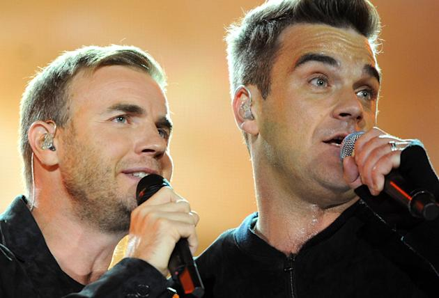 Robbie Williams eyeing duets album with Gary Barlow