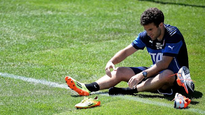 World Cup - Rossi baffled after missing out on Italy squad again
