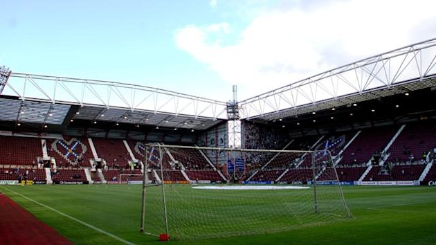 Hearts Heart of Midlothian's Tynecastle stadium