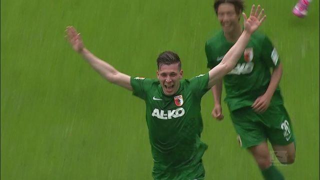 Højbjerg fires Augsburg into Europe