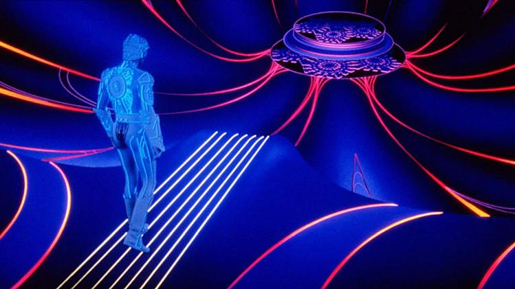 Tron Production Photos 1982 Walt Disney Pictures