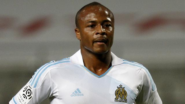 Ligue 1 - No break for Marseille's Ayew