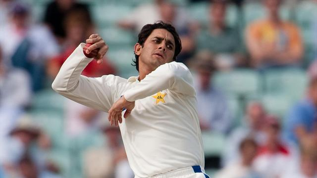 Cricket - Ajmal removes Proteas openers