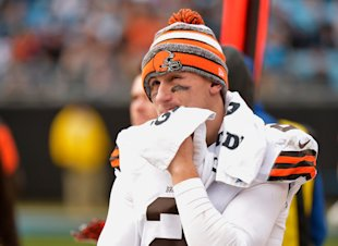 Heavy scrutiny didn't keep Johnny Manziel out of the first round of the NFL draft last year. (Getty Images)