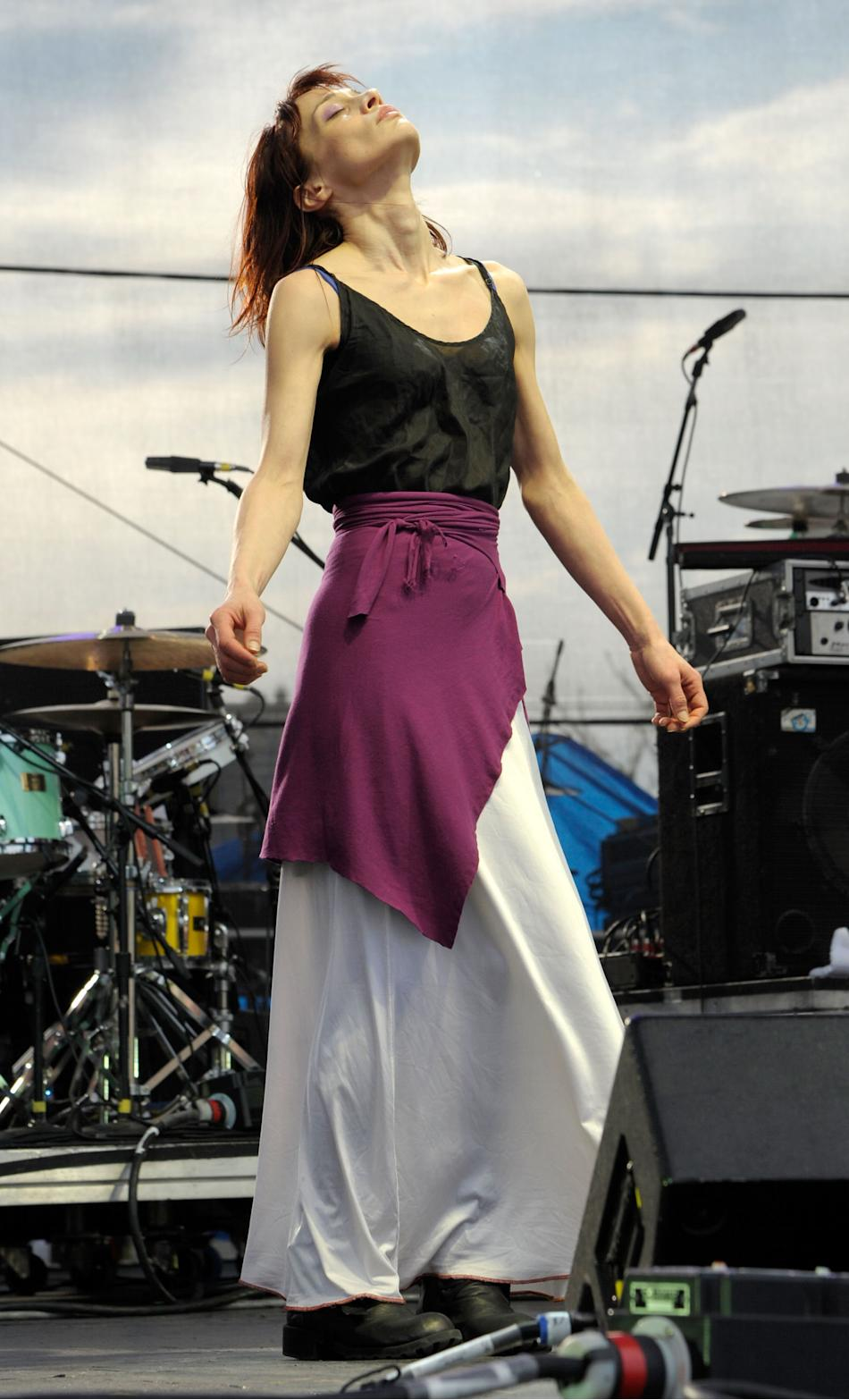 Poised like a Phoenix on the Governor's Ball Music Festival stage in late June, the next chapter of Fiona's career was reborn as she hit the crowd with melody and organic layers of danceable fabric.