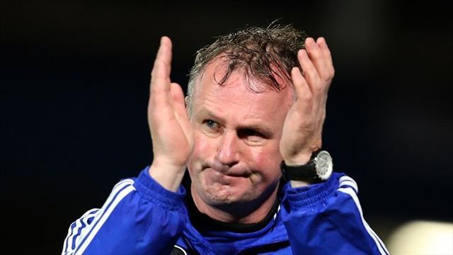 Football - Defeat disappoints O'Neill