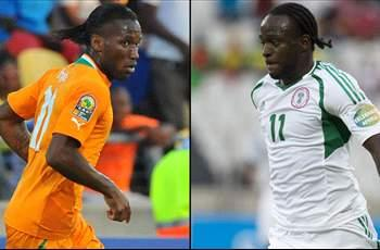 Nigeria 2-1 Ivory Coast: Super Eagles upset Elephants to earn Afcon semi-final clash with Mali