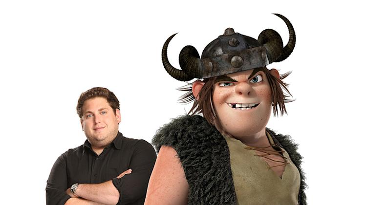How to Train Your Dragon Production Photos 2010 DreamWorks Jonah Hill