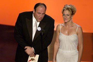 James Gandolfini, Edie Falco 55th Annual Emmy Awards - 9/21/2003
